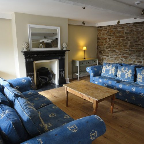 Guest lounge at The Heritage B&B
