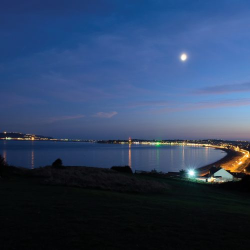 Weymouth at night